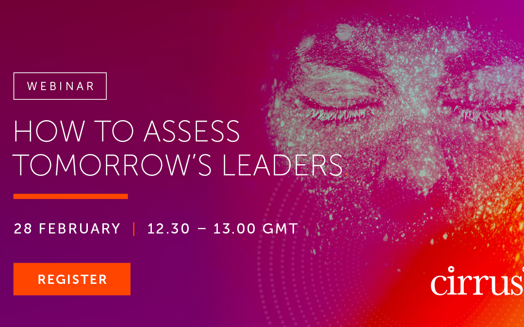 How to assess tomorrow's leaders webinar