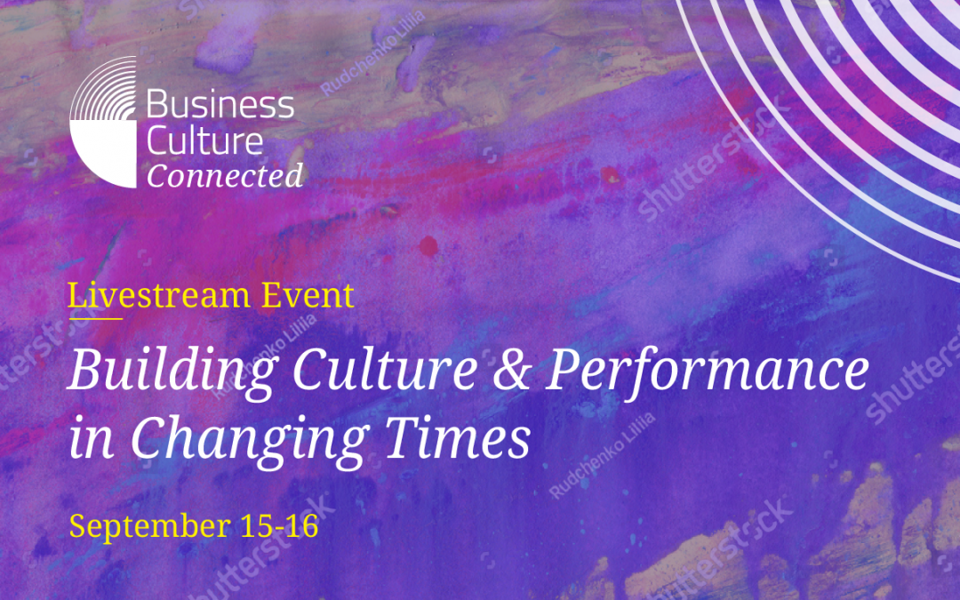 Cirrus and RB at the Business Culture Conference